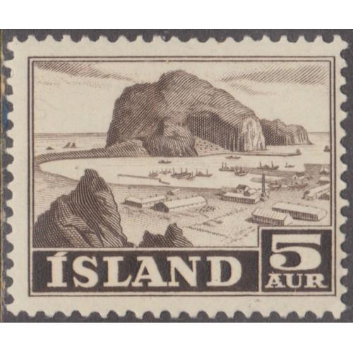 UNUSED/NH ICELAND #257 (1954)