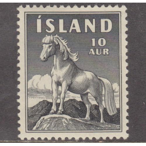 UNUSED ICELAND #311 (1958)