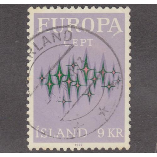 USED ICELAND #439 (1972)