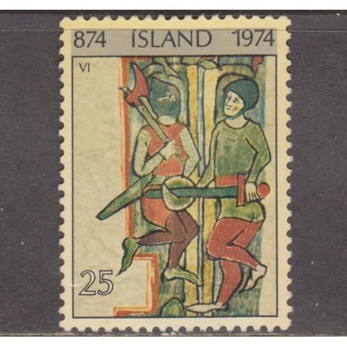 USED ICELAND #466 (1974)