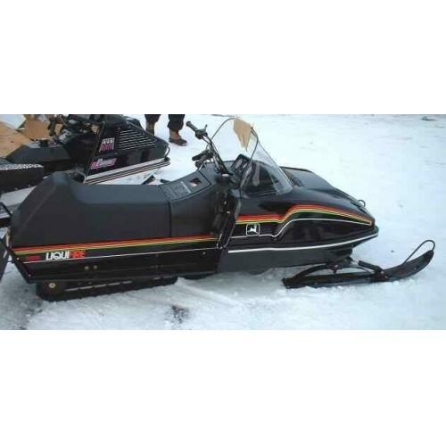 John Deere Liquifire Snowmobile Service Repair Manual CD