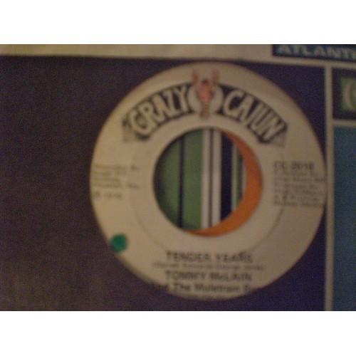 45 RPM: #3189.. TOMMY McLAIN - HONKY TONK & TENDER YEARS / CRAZY CAJUN 2018