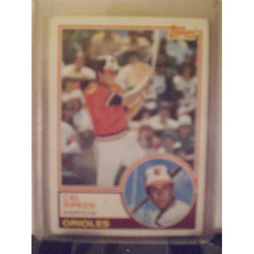 BASEBALL CARD: 1983 TOPPS 163 CAL RIPKEN VG/EX