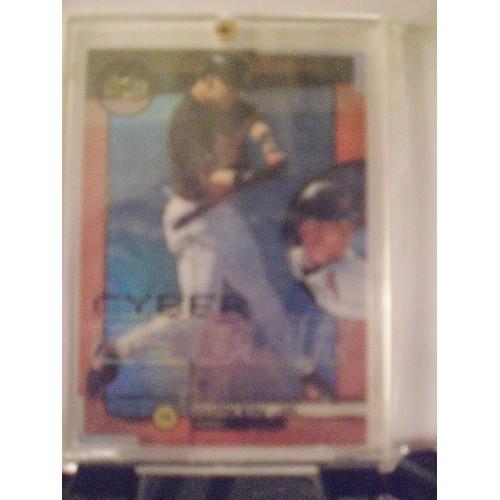 BASEBALL CARD: 1999 UD CYBER #C2 CAL RIPKEN JR. NM PACK TO CASE