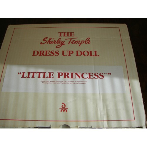 """SHIRLEY TEMPLE  """" LITTLE PRINCESS """"  DOLL CLOTHES"""