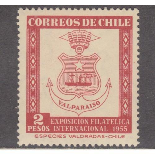UNUSED CHILE #287 (1955)