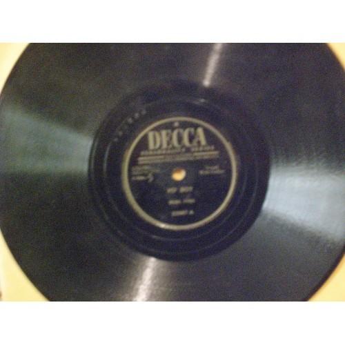 78 RPM: #1307.. BURL IVES - PO' BOY & I'M SAD AND I'M LONELY / DECCA 23967 / VG+