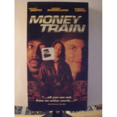 VHS MOVIE: #150 MONEY TRAIN - WESLEY SNIPES, WOODY HARRELSON, JENNIFER LOPEZ
