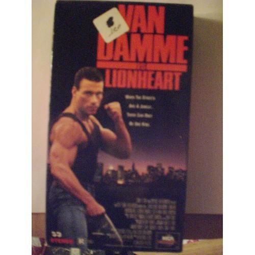 VHS MOVIE: #158 LIONHEART - JEAN-CLAUDE VAN DAMME