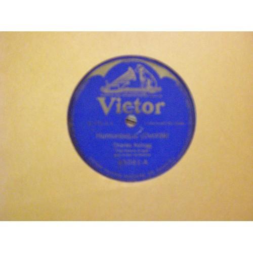 78 RPM: #1319.. CHARLES KELLOGG - HUMORESQUE / VICTOR 45061 / VG/VG+