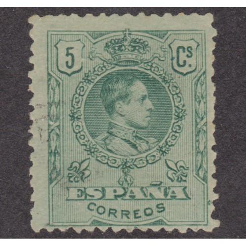USED SPAIN #298 (1909)