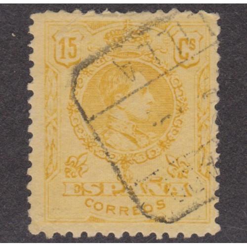 USED SPAIN #310 (1917) ORANGE CONTROL NUMBER