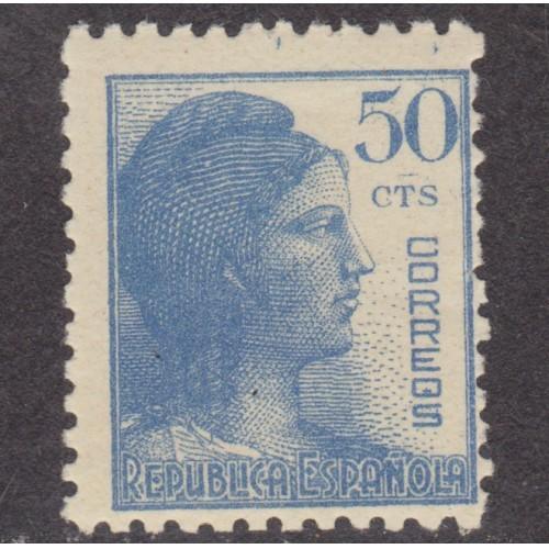 UNUSED SPAIN #600 (1938)