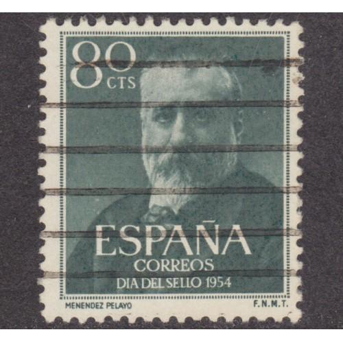 USED SPAIN #814 (1954)