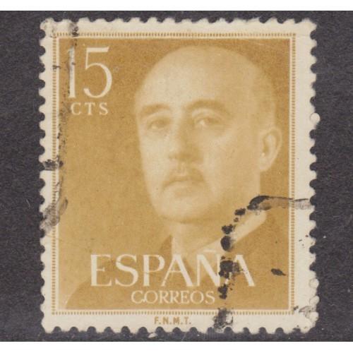 USED SPAIN #816 (1954)