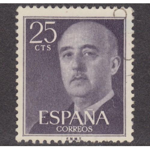 USED SPAIN #818 (1954)
