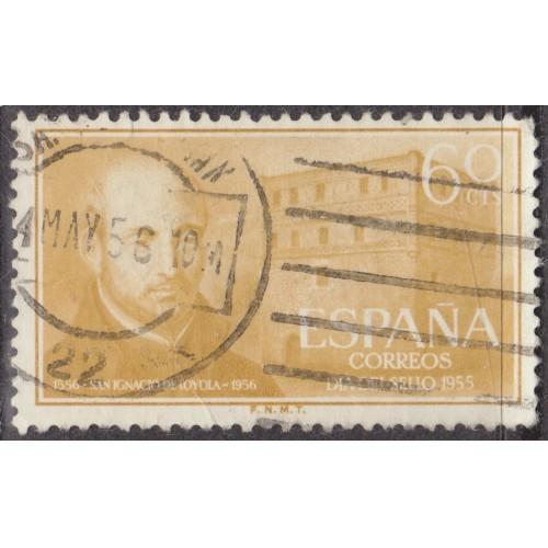 USED SPAIN #837 (1955)