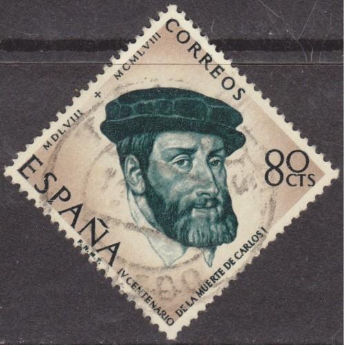 USED SPAIN #882 (1958)