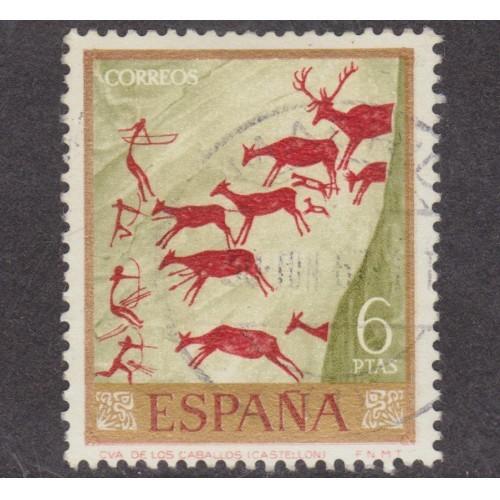 USED SPAIN #1458 (1967)
