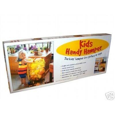 BURLINGTON BASKET KIDS HANDY HAMPER -----NEW