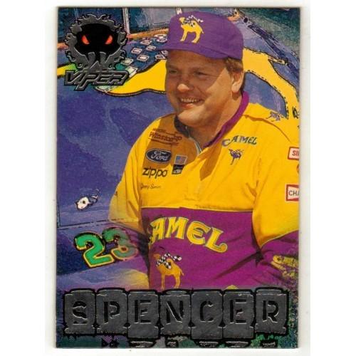 1997 Wheels Viper Jimmy Spencer NASCAR Trading Card No. 34 - VF