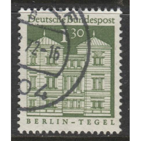 1969 GERMANY  1.30 DM.  Tegel Castle, Berlin  used, Scott # 950