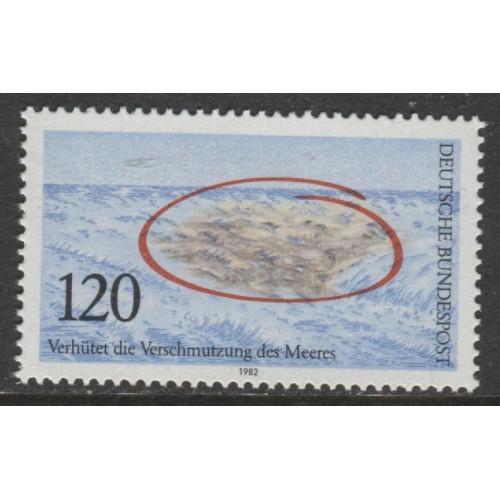 1982 GERMANY 120 Pf. Prevent Water Polution mint**, Scott # 1378