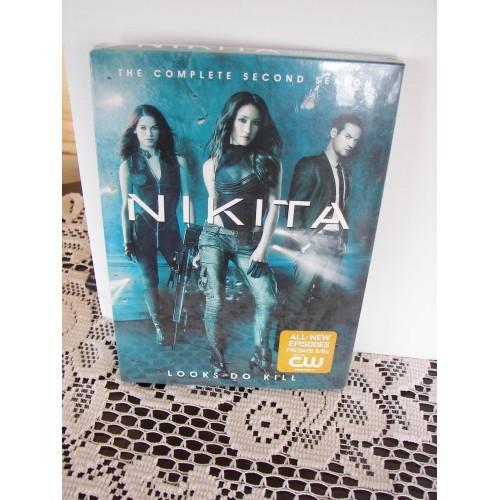 NIKITA THE COMPLETE SECOND SEASON  DVD