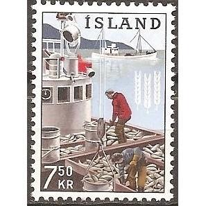 ICELAND HERRING BOAT (1965) MNH