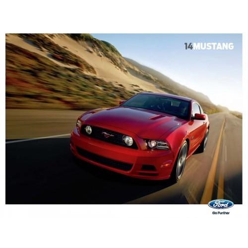 Ford Mustang  Sales Brochure - 2014