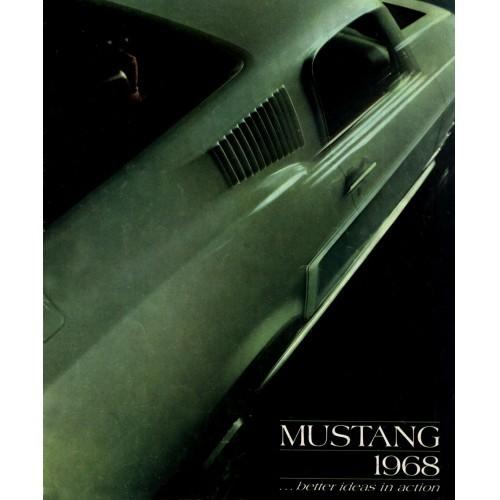 Ford Mustang Sales Brochure - 1968