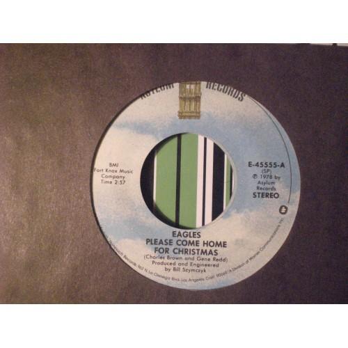45 RPM: #3765.. EAGLES - FUNKY NEW YEAR / ASYLUM E-45555 / VG/VG+