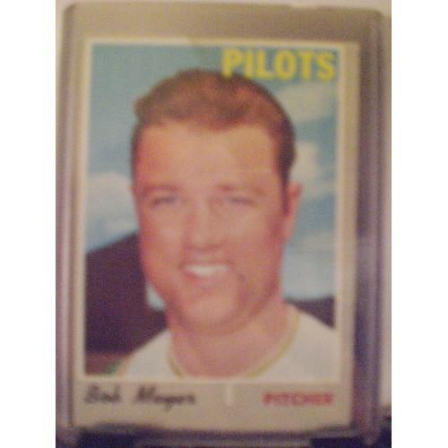 BASEBALL CARD:  1970 TOPPS #667 BOB MEYER VG