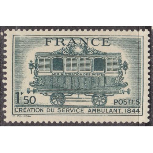 UNUSED FRANCE #472 (1944)