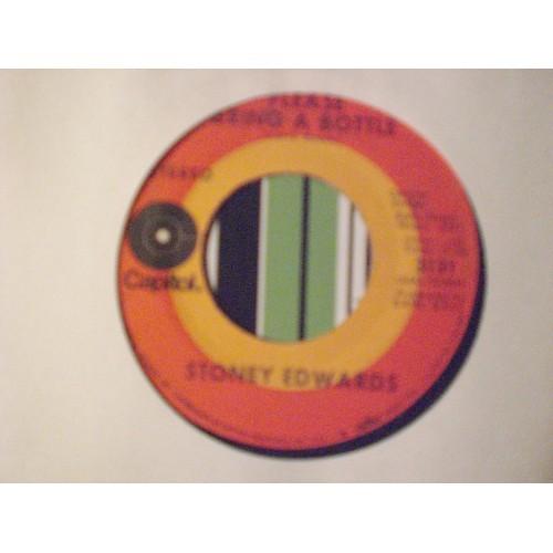 45 RPM: #3848.. STONEY EDWARDS - PLEASE BRING A BOTTLE / CAPITOL 3131 / VG+