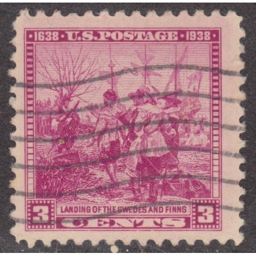 USED SCOTT #836 (1938)