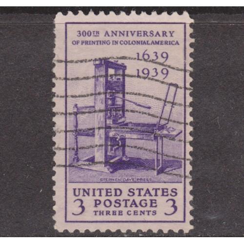 USED SCOTT #857 (1939)