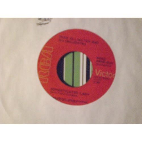 45 RPM: #3880.. DUKE ELLINGTON - SATIN DOLL / RCA VICTOR AMH0-0337 / VG