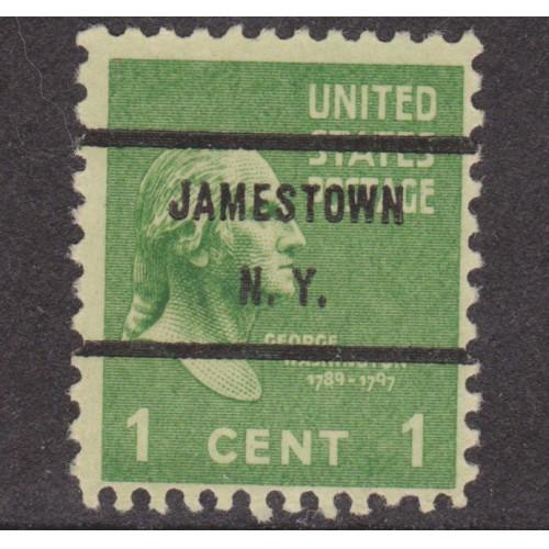 USED SCOTT #804 WITH JAMESTOWN, N. Y. PRECANCEL