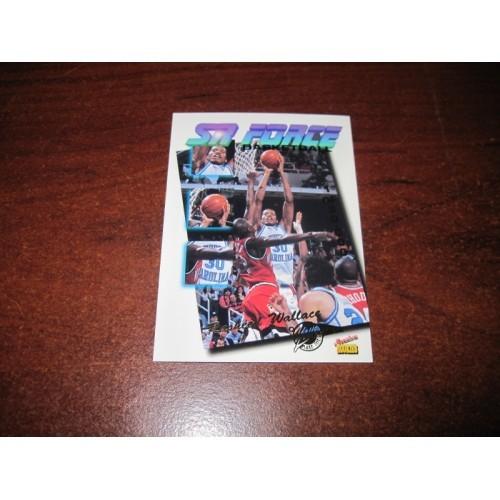 1995 1996 Signiture Rookies Tetrad SR Force Rasheed Wallace North Caroloina NCAA