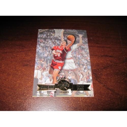 1996-1997 Press Pass NCAA Basketball Card 22 Brian Evans Indiana NCAA