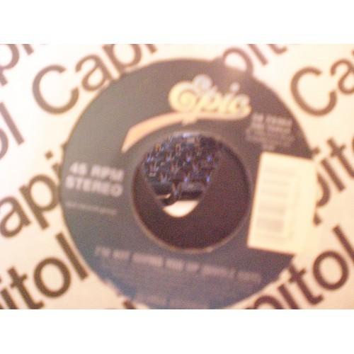 45 RPM: #3923 .. GLORIA ESTEFAN - I'M NOT GIVING YOU UP / EPIC 34-78464 / VG/VG+