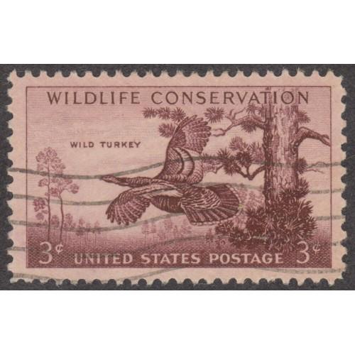 USED SCOTT #1077 (1956)