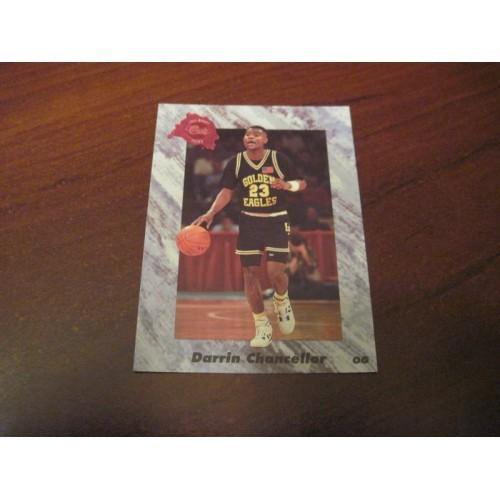 1991 1992 Classic NCAA Basketball Draft Card 195 Darrin Chancellor Southern Miss
