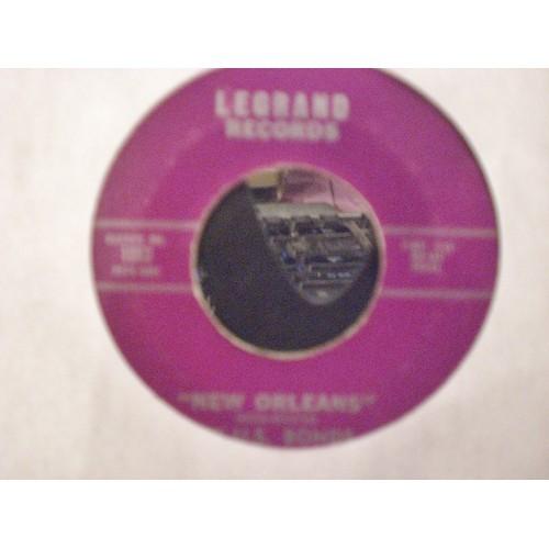 45 RPM R&B:  #1741.. PLEASE FORGIVE ME & NEW ORLEANS by U. S. BONDS / LEGRAND
