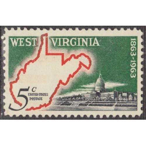 USED SCOTT #1232 (1963)