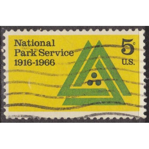 USED SCOTT #1314 (1966)
