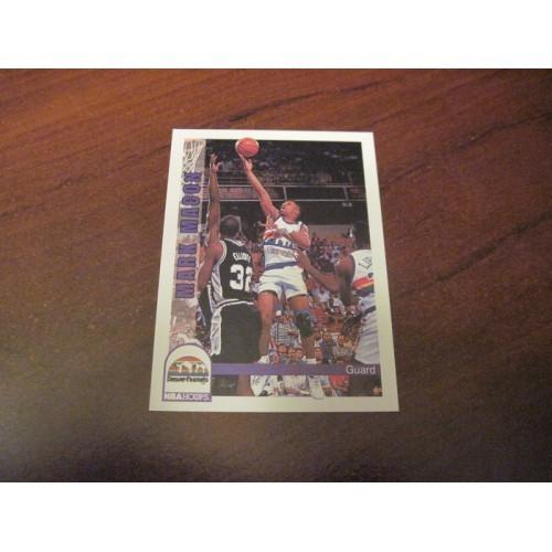 1992 1993 Skybox Rookie Basketball Card 59 Mark Macon Temple Denver