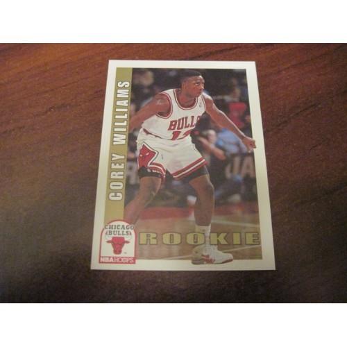 1992 1993 Skybox Rookie Basketball Card 5364 Corey Williams Oklahoma State RC