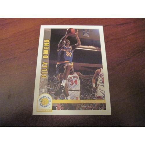 1992 1993 Skybox Rookie Basketball Card 79 Billy Owens Syracuse Sacramento RC